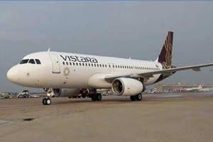 Creative Advertisement in Flights - Vistara