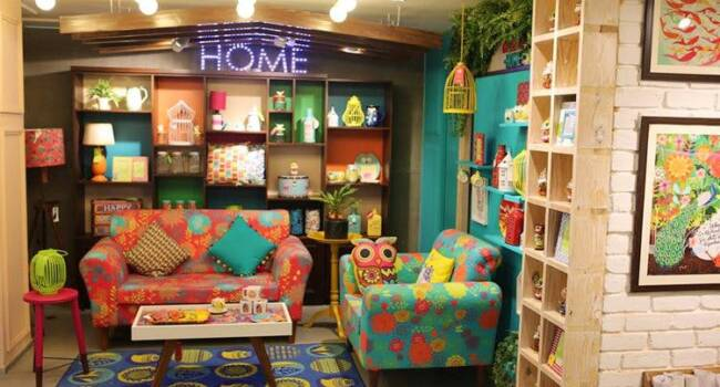 chumbak store visual merchandising executed by Tophawks
